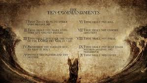 moses 10 commandments