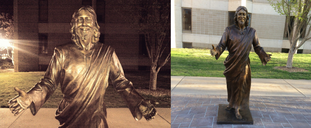 bronze statue union college